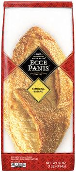 Ecce Panis® Hand Crafted Stone Baked® Semolina Batard Gourmet Artisan Breads