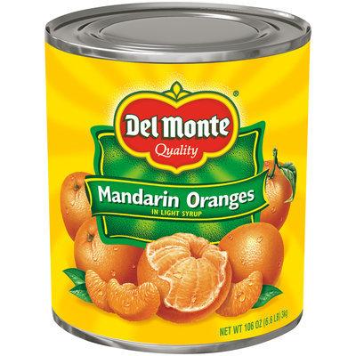 Del Monte® Mandarin Oranges in Light Syrup 106 oz. Can