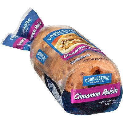Cobblestone Bread Co.™ Cinnamon Raisin Bagels 20 oz. Bag