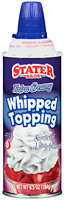 Stater Bros.® Extra Creamy Whipped Topping 6.5 oz. Aerosol Can
