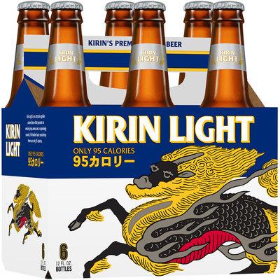 Kirin Light 12 Oz  Beer 6 Pk Glass Bottles