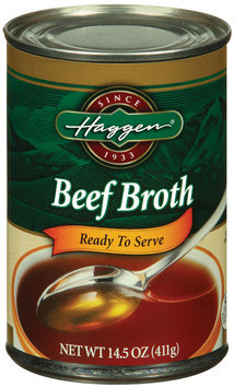 Haggen Ready to Serve Beef Broth 14.5 Oz Can