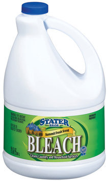 Stater Bros. Summit Fresh Scent Bleach 96 Fl Oz Bottle