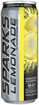 Sparks Lemonade 8.0% Alcohol By Volume Premium Malt Beverage 24 Oz Can