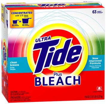 Tide Ultra Plus Bleach Alternative Clean Breeze Concentrated Powder Laundry Detergent