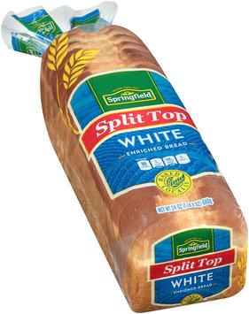 Springfield® Split Top White Bread 24 oz. Bag