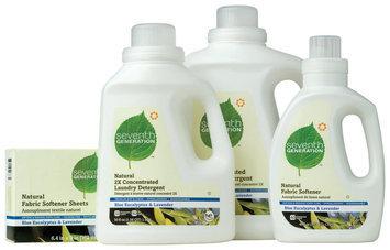 Seventh Generation Blue Eucalyptus & Lavender Detergent, Softener, Fabric Sheets Group Laundry
