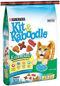 Purina Kit & Kaboodle Essentials Cat Food 11 lb. Bag