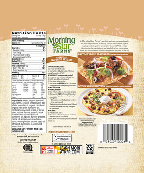 MorningStar Farms® Breakfast Sausage Patties 8 oz. Bag