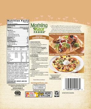 MorningStar Farms® Breakfast Sausage Patties 8 oz. Bag