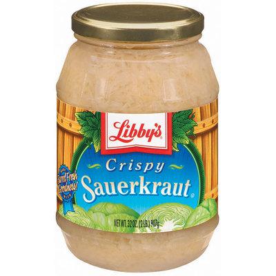 Libby's® Crispy Sauerkraut 32 Oz Jar