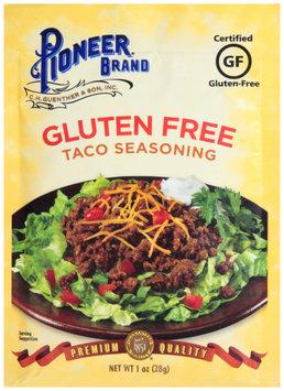 Pioneer Brand® Gluten Free Taco Seasoning 1 oz. Packet