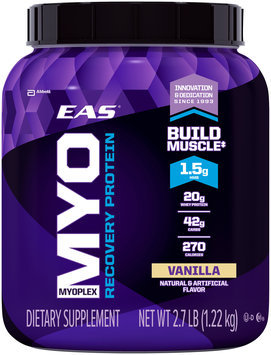 EAS® Myoplex Recovery Protein Vanilla Dietary Supplement 2.7 lb. Canister