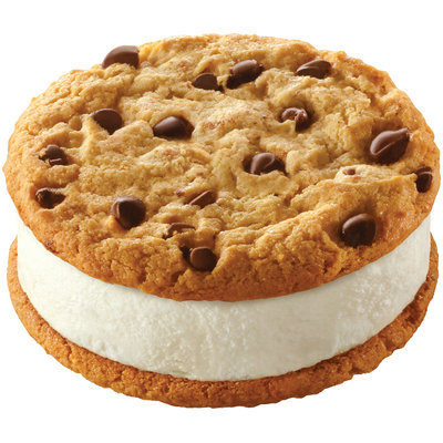 Klondike® Mrs. Fields® Chocolate Chip Cookie Sandwich Single Serve Novelty 7 oz. Wrapper