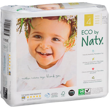 Eco by Naty® Size 4 Diapers 27 ct Pack