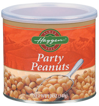 Haggen Party Peanuts 12 Oz Canister