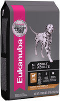 Eukanuba™ Adult Lamb & Rice Formula Dog Food 30 lb. Bag