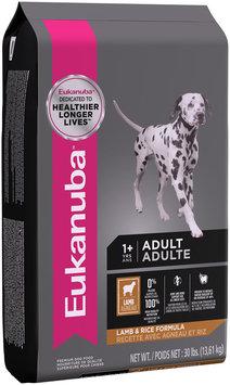 Eukanuba™ Adult Lamb & Rice Formula Dog Food 30 lb. Bag