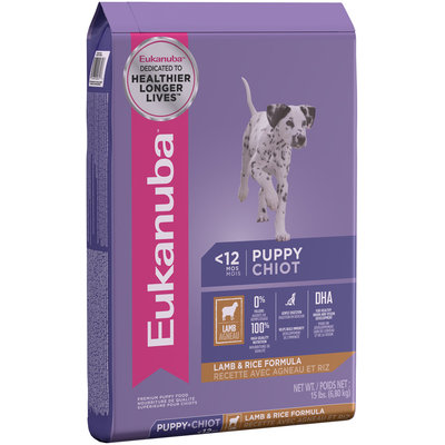 Eukanuba™ Puppy Lamb & Rice Formula Dog Food 15 lb. Bag