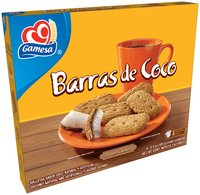 Gamesa® Barras de Coco Coconut Cookies 4-3.5 oz. Packs