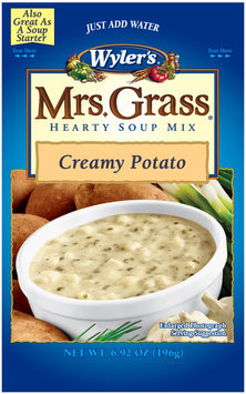 Wyler's® Mrs. Grass® Creamy Potato Hearty Soup Mix 6.92 oz. Pouch