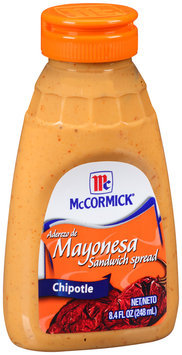 McCormick® Mayonesa Chipotle Sandwich Spread 8.4 fl. oz. Bottle
