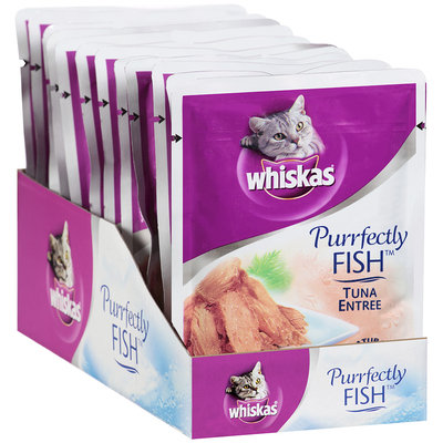 Whiskas® Purrfectly FISH™ Tuna Entree 3 oz. Pouch