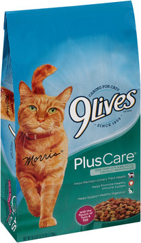 9Lives Plus Care Dry Cat Food, 3.15-Pound
