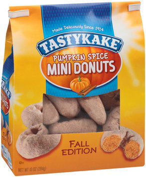 Tastykake® Pumpkin Spice Mini Donuts 10 oz. Stand Up Bag