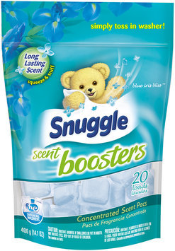 Snuggle Scent Boosters® Blue Iris Bliss™ 20 Loads Concentrated Scent Pacs 14.1 oz. Bag