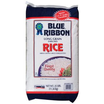 Blue® Ribbon Long Grain Enriched Rice 25 lb. Bag