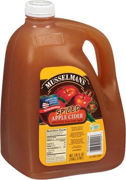 Musselman's 100% Spiced Apple Cider Juice 128 fl. oz. Jug