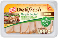 Oscar Mayer Deli Fresh Mesquite Smoked Turkey Breast Lunch Meat 16 oz. Tub