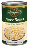 Haggen Recipe Ready Navy Beans 15 Oz Can