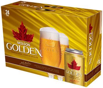 Molson Golden 12 Oz Beer 24 Pk Cans