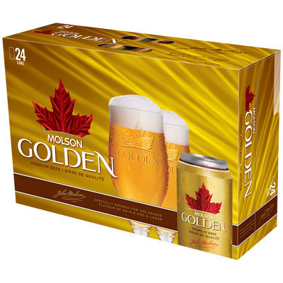 Molson Golden 12 Oz Beer 24 Pk Cans