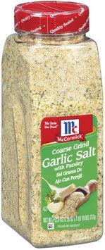 McCormick® Coarse Grind with Parsley Garlic Salt
