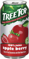 Tree Top Apple Berry 100% Juice 11.5 Fl Oz Can