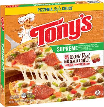 Tony's™ Pizzeria Style Crust Supreme Pizza 20.6 oz. Box