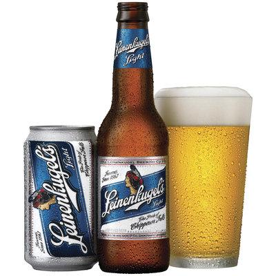 Leinenkugel's Light Can Bottle W/Pour Beer
