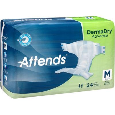 DDA20 Attends® DermaDry™ Advance Medium Briefs, 24 count