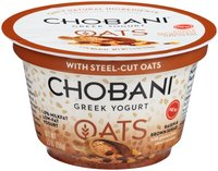 Chobani® Oats Raisin & Brown Sugar Low-Fat Greek Yogurt