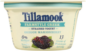 Tillamook® Oregon Marionberry Farmstyle Greek Strained Nonfat Yogurt 5.3 oz. Cup