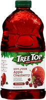 Tree Top® Apple Cranberry 100% Juice 64 fl. oz. Bottle
