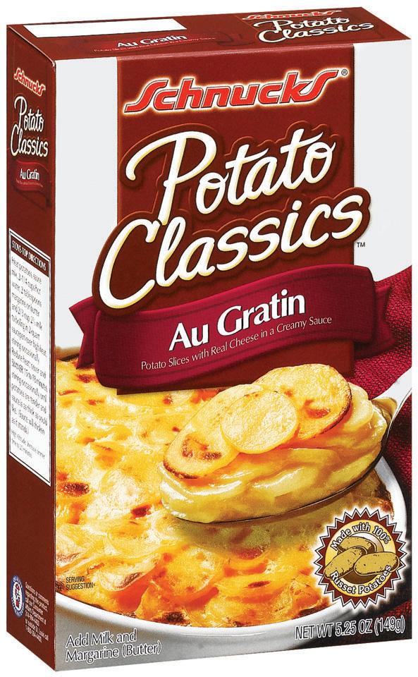 Schnucks Au Gratin Potato Classics 5.25 Oz Box