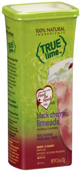 True Lime™ Black Cherry Limeade Drink Mix 6 ct Packets