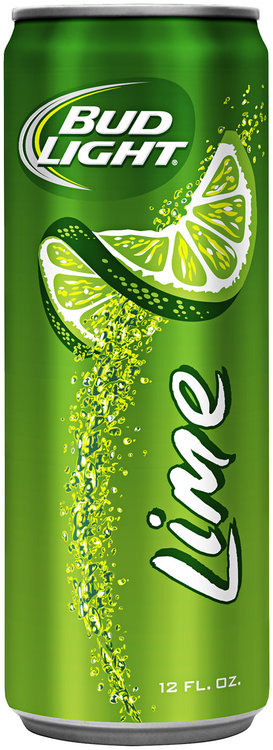 Bud Light Lime Beer Aluminum Bottle
