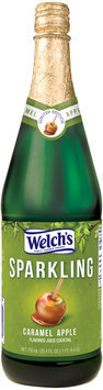 Welch's® Sparkling Caramel Apple Juice Cocktail 25.4 fl. oz. Glass Bottle