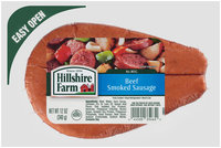 Hillshire Farm Beef Smoked Sausage 12 oz. Pack