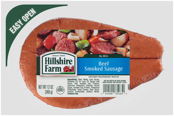 Hillshire Farm Beef Smoked Sausage 12 oz. Pack